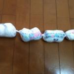 オムツ処理,かさ袋,におわない,節約,出産準備